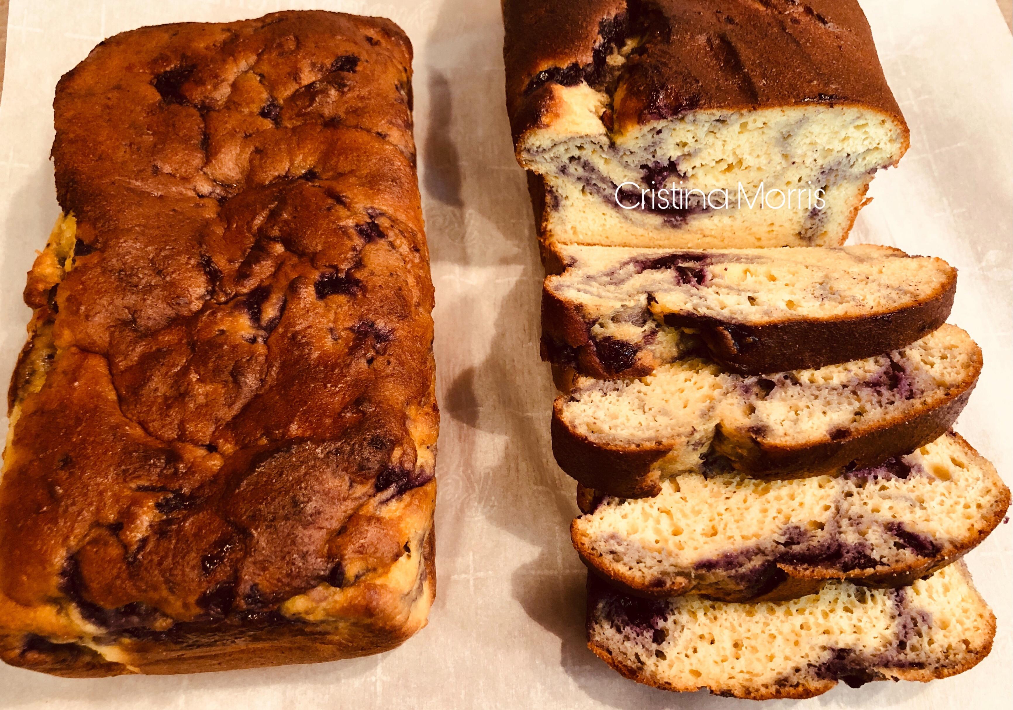 Keto Blueberry Pound Cake