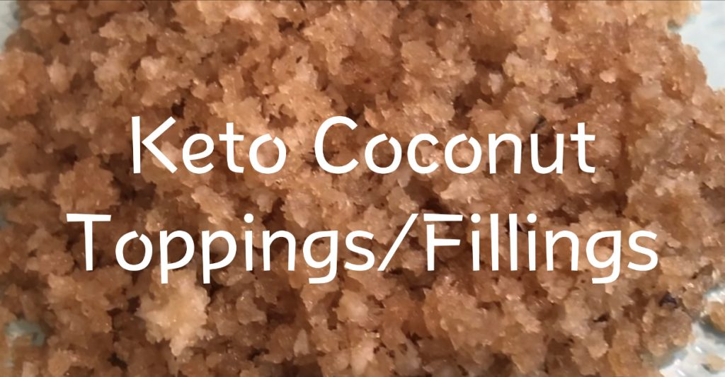 Keto Coconut Topping