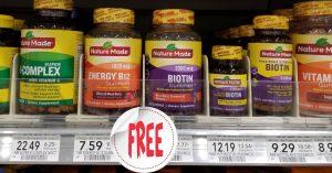 Nature Made Vitamins -Publix Shelf
