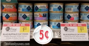 Blue Wet Cat Food - Publix Shelf