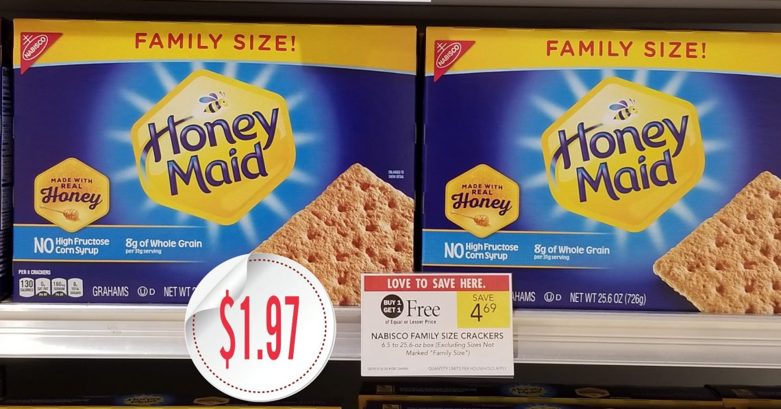 Nabisco Honey Maid Crackers - Publix BOGO Sale