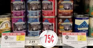 Blue Wilderness Dog Food - Publix Shelf