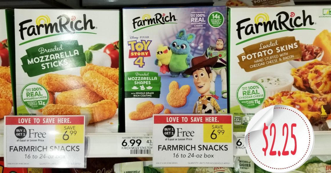 Farm Rich Snacks - Publix Shelf