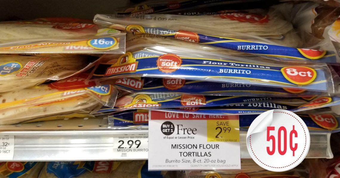 Mission Flour Tortillas - Publix BOGO