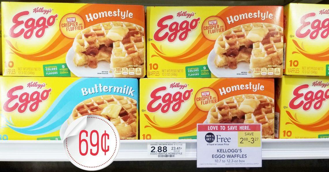 Kellogg's Eggo Waffle - Publix BOGO