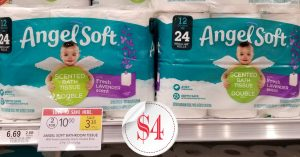 Angel Soft Tissue - Publix Sale