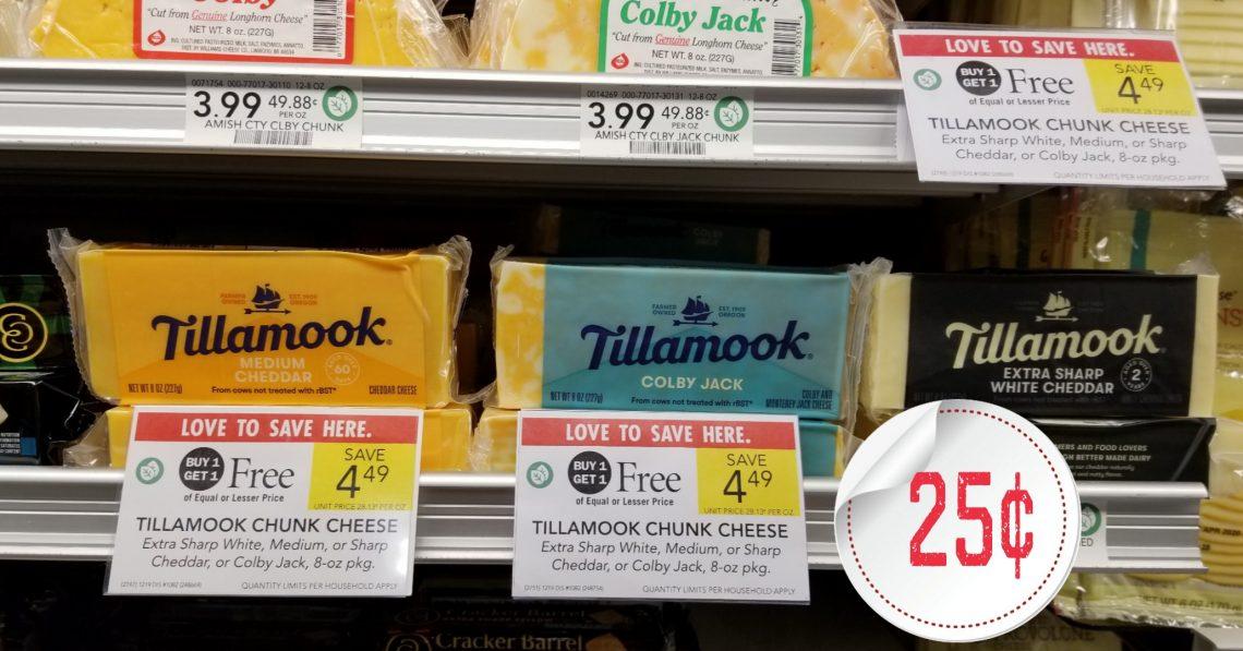 Tillamook Cheese _ Publix BOGO