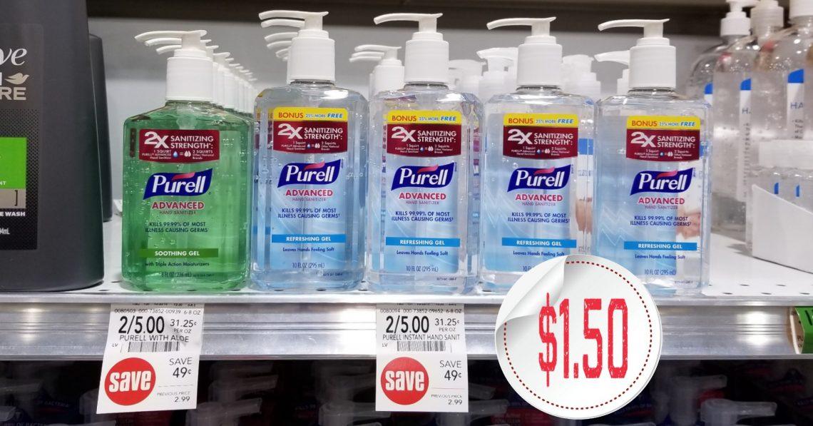 Purell Hand Sanitizer - Publix