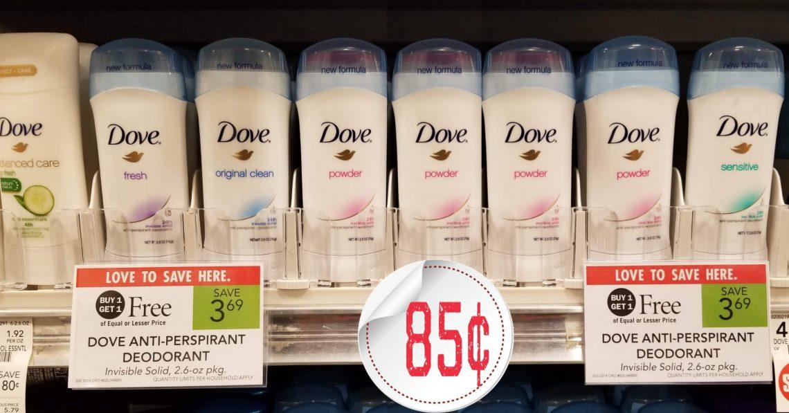 Dove Deodorant - Publix Bogo