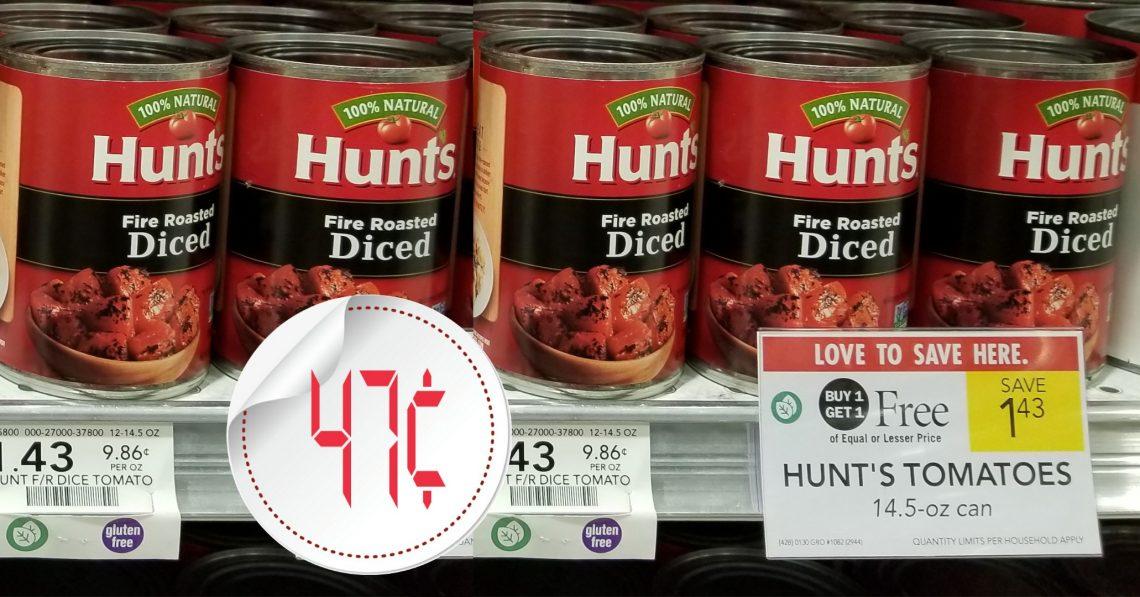 Hunt's Tomatoes - Publix Bogo