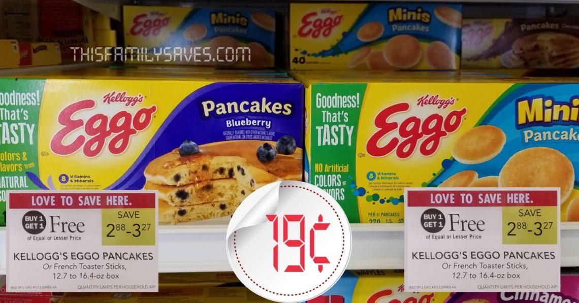 Kellogg's Eggo Pancakes