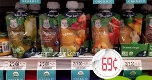 Gerber Baby Food Pouch at Publix