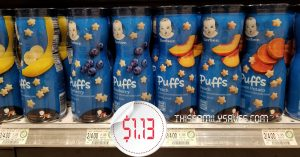 Gerber Snacks at Publix