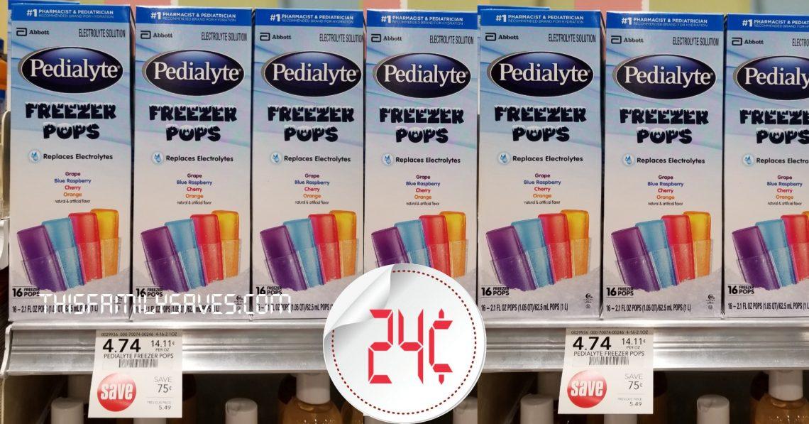 Pedialyte Freezer Pop